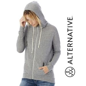 BOGO Alternative Eco-Jersey Athletic Zip Up Hoodie